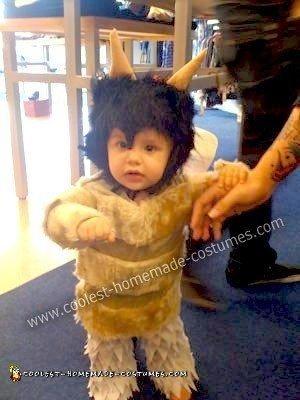 Homemade Little Wild Thing Baby Costume