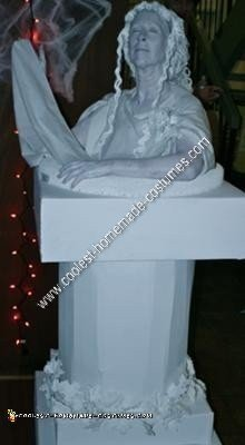 Homemade Live Statue Costume Idea