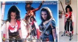 Homemade Livia from Xena Warrior Princess Costume