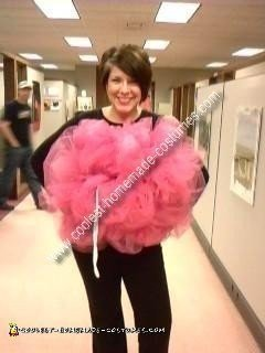 Homemade Loofah Costume