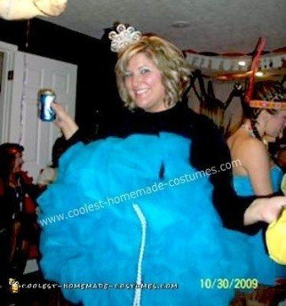 Homemade Loofah Halloween Costume