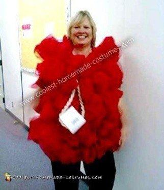 Homemade Loofah Halloween Costume