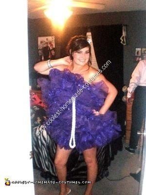 Homemade Loofah Halloween Costume Idea