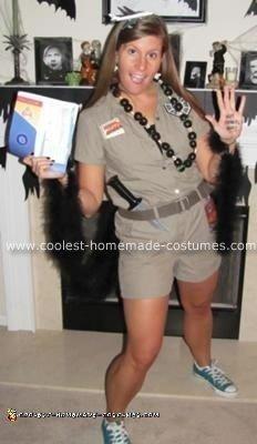 Homemade Lost Halloween Costume Idea