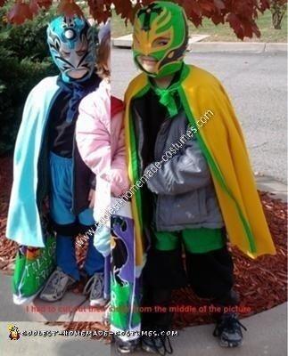 Homemade Lucha Libre Costume Ideas