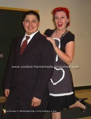 Homemade Lucy and Ricky Costume