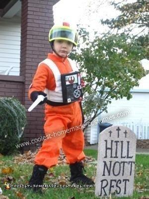 Homemade Luke Skywalker X-WIng Pilot Costume
