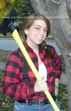 Homemade Lumberjack Costume