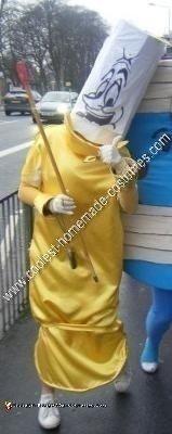Homemade Lumiere Costume