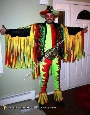 Homemade Macho Man Randy Savage Costume
