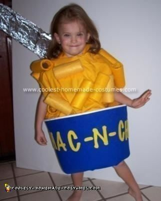 Homemade Mac-N-Cheeza Costume
