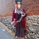 Homemade Mad Hatter Adult Halloween Costume