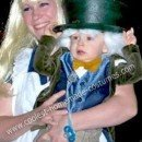 Homemade Mad Hatter Baby Costume