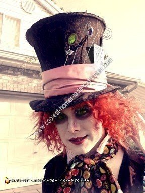Homemade Mad Hatter Halloween Costume Idea