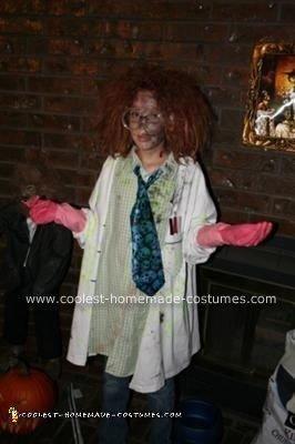 Homemade Mad Scientist Costume