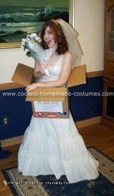 Homemade Mail Order Bride Costume
