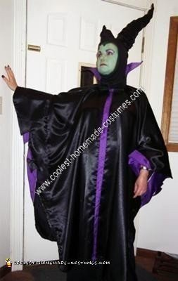Homemade Maleficent Halloween Costume