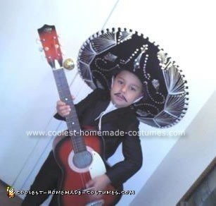 Homemade Mariachi Costume