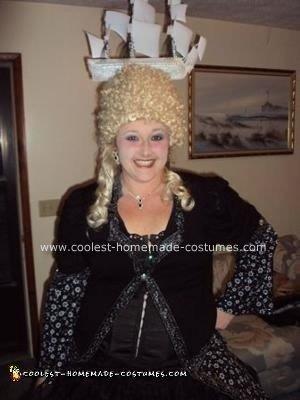 Homemade Marie Antoinette Costume