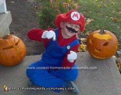 Homemade Mario Costume