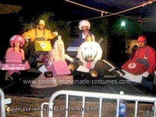 Homemade Mario Kart Character Group Costumes