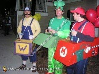 Homemade Mario Kart Costume