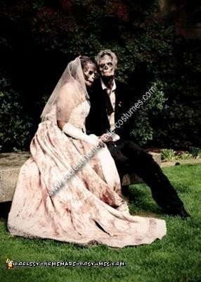 Homemade Married Zombie Couple Costume