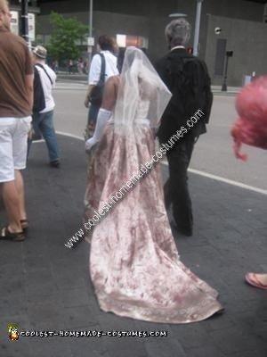 Homemade Married Zombie Couple Costume