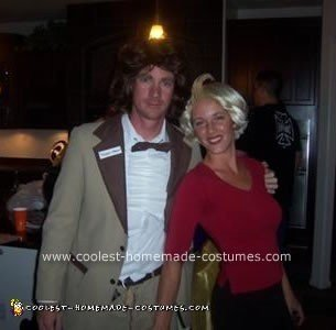 Homemade Mary and Ted Costume from Something About Mary
