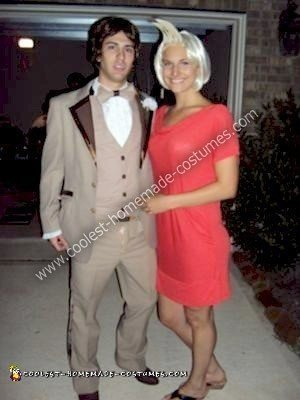 Homemade Mary and Ted Costume from There's Something About Mary