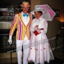 Homemade Mary Poppins and Burt Couple Costume