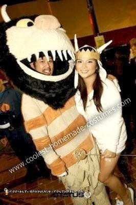 Homemade Max and Wild Thing Couple Costume