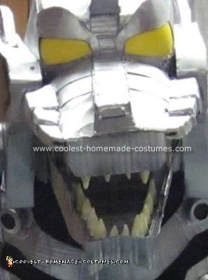 Homemade Mechagodzilla Costume