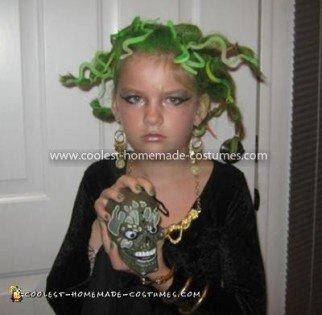 Coolest Homemade Medusa Costume 12