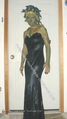 Homemade Medusa Halloween Costume