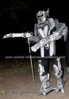 Homemade Megabot Costume