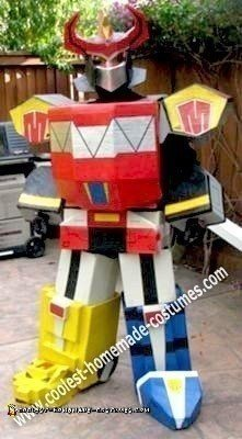 Homemade Megazord Costume