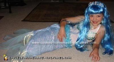 Homemade Mermaid Halloween Costume
