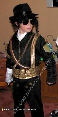 Homemade Michael Jackson 1993 Superbowl Halftime Show Costume