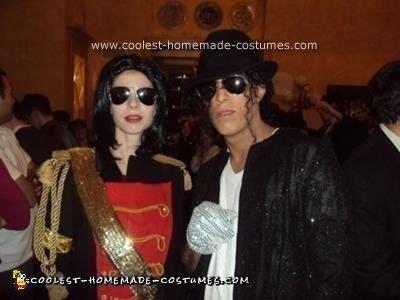 Homemade Michael Jackson Family Themed Costume