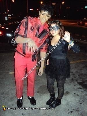 Homemade Michael Jackson Thriller Unique Halloween Costume Idea