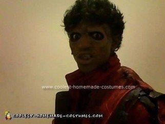 Homemade Michael Jackson Thriller Unique Halloween Costume Idea