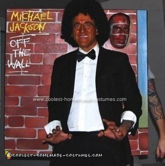 Homemade Michael Jackson's Off The Wall Album Cover Costume