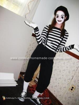 Homemade Mime Costume