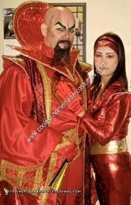 Homemade Ming the Merciless from Flash Gordon Costume