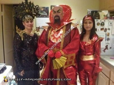 Coolest Homemade Ming The Merciless From Flash Gordon Costume