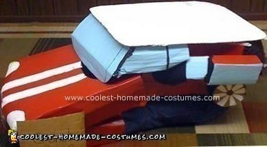 Homemade Mini Cooper Transformer Halloween Costume