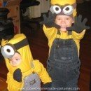 Homemade Minion Halloween Costume Idea