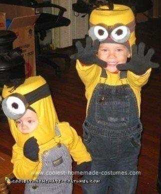 Homemade Minion Halloween Costume Idea
