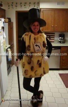 Homemade Mister Peanut Halloween Costume